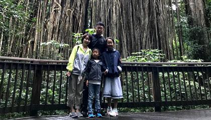 家族と共有する時間は父親として特に大切にしたい。